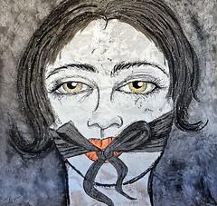Callate (franck.sastre) Tags: miradas art visages ojos pictures rostro face