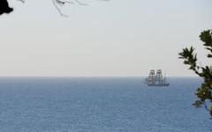 James Craig heading north (Poytr) Tags: jamescraig barque bark longreef sydneyaustralia nsw tallship sailingship sea ocean sky boat water ship seascape tasmansea pacificocean