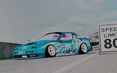 COME BACK BITCH! (✩RR-54✩) Tags: lfs live for speed twin drift drifting drifter avc jdmworks club tandem blackwood xrt car