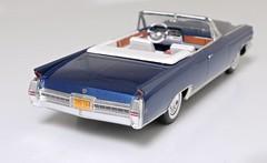1964 Cadillac Eldorado (Jeffcad) Tags: cadillac car 1964 eldorado 125 johan scale model models plastic kit handmade conversion built fins convertible