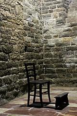 nessuno... (daniel.virella) Tags: chair pray church cript romanico romanesque chiesadisansilvestro bevagna umbria italia picmonkey