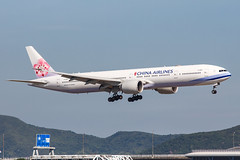CHINA AIRLINES B777-300ER B-18051 003 (A.S. Kevin N.V.M.M. Chung) Tags: aviation aircraft aeroplane airport airlines plane spotting boeing b777300er b777 worldliner landing hkg