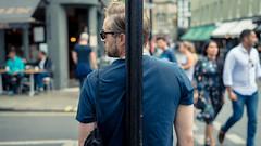 Post Man (Sean Batten) Tags: soho city urban london england unitedkingdom gb streetphotography street nikon d800 50mm person candid people post road