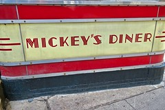 Mickey's Diner, St. Paul, MN (Robby Virus) Tags: stpaul minnesota mn saint paul mickeys diner sign signage dining car railroad train nrhp national register historic places restaurant greasy spoon