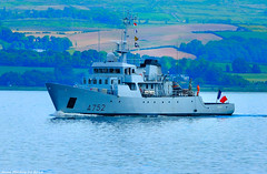 Scotland Greenock French navy officer training ship Guépard A752 11 June 2018 by Anne MacKay (Anne MacKay images of interest & wonder) Tags: scotland greenock sea french navy officer training ship guépard a752 xs1 11 june 2018 picture by anne mackay