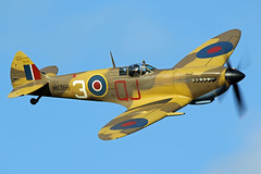 BBMF Spitfire Mk IXc MK356 (MUSTANG_P51) Tags: bbmf spitfire mk ixc mk356 shuttleworth oldwarden