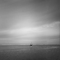 Burnham Overy Staithe (RoryO'Bryen) Tags: burnhamoverystaithe burnham kodaktrix 120mm man solitude coast costa norfolk roryobryen copyrightroryobryen rolleiflex