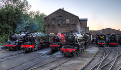 Another evening at the KWVR (Dave2638) Tags: steamgala kwvr