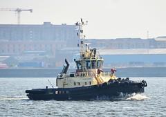 Ships of the Mersey - Svitzer Warden (sab89) Tags: ships mersey svitzer warden river irish sea liverpool new brighton estuary shipping merseyside ship boats
