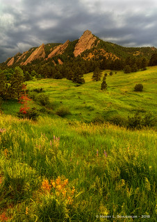 Stormy Skies Over The Flatirons
