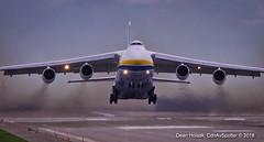 A98I1716 (CdnAvSpotter) Tags: antonov an124100 adb design bureau ukrainiancargo massive airplane aviation cargo jet freighter takeoff yow cyow ottawa
