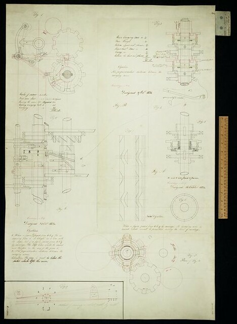 Drawing of the Analytical Engine
