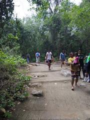 IMGP1965 (陳竹 / bamboo / Baipaii) Tags: thailand kanchanaburi waterfall erawanwaterfall onedaytrip pentaxq7 thammasat exchangestudent