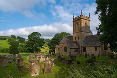 The Little Church in the Valley (Bob C Images) Tags: church buildings architecture graveyard tombstones england broadway cotswolds countryside sky landscapesenglandwales