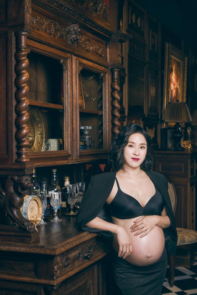 推薦 台南孕婦寫真 浪漫時尚孕媽咪 SY 033
