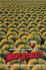 Mars Attacks - The Art of the Movie / page 154 (Poster) (micky the pixel) Tags: buch book livre sf scifi sciencefiction ballatinebooks warnerbros toppscompany marsattacks theartofthemovie aliens marsmensch martian plakat poster movie film timburton gehirn brain