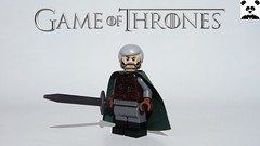 22 - Ser Davos Seaworth - The Onion Knight (Random_Panda) Tags: lego figs fig figures figure minifigs minifig minifigures minifigure purist purists character characters comics hero heroes comic book books films film movie movies tv show shows game thrones hbo westeros ser davos seaworth the onion knight