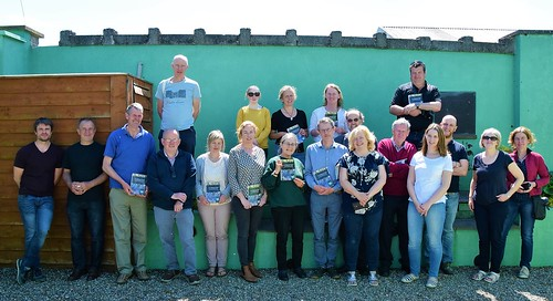 IRWC launch of the Wetlands Manual, Cloughjordan, May 2018.. Photo by Ciara Maxwell