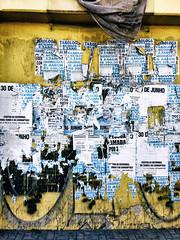 Wild Postings (Diego3336) Tags: flyposting post posting bill billpost billposting wildposting wheatpasteposter wheatpaste guerrillamarketing poster flyer postnobills peeling peel paint wall ad ads advertising streetart streetshot streetphoto urban texture lapa clicksp saopaulo sp brasil brazil latinamerica southamerica cameraphone