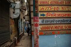 Varanasi Corner Directory (shapeshift) Tags: narrowalley alleysalleyways alley colorfulindia colorsofindia signs directory ads handpainted davidpham davidphamsf shapeshift shapeshiftnet benares banaras kashi varanasi uttarpradesh india in documentary storiesofindia indiastories