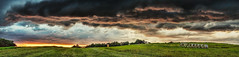 8R9A2426-31Ptzl1TBbLGERkR (ultravivid imaging) Tags: ultravividimaging ultra vivid imaging ultravivid colorful canon canon5dm3 clouds farm fields balesofhay sunsetclouds stormclouds sunset sky scenic rural twilight lateafternoon evening countryscene pennsylvania pa panoramic painterly landscape summer vista