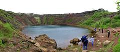 Kerið 3 Panorama (ragnaolof) Tags: kerið iceland selfoss lake craterlake crater volcanic
