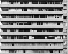 ¿Donde esta la abuelita? (Packing-Light) Tags: bogota colombia nikon southamerica bogotá co building architecture hideandseek monochrome bw lines people geometry