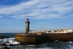 Lighthouse (Francisco (PortoPortugal)) Tags: 1412018 20161026fpbo4369 farol lighthouse fozdodouro atlanticsea oceanoatlântico porto portugal portografiaassociaçãofotográficadoporto francscooliveira