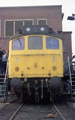 Derby works, 25319, September 1982 (colin9007) Tags: derby br sulzer 25319 d7669 class 25