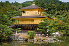 Gold Temple (Pablo Arrigoni) Tags: japón japan japanese gold oro architech arquitectura arquitecture arbol tree green verde nature natural naturaleza asia asian asiatico stone piedra sky cielo color colors trip viaje viajar vacaciones hollidays water agua lago lake canon 18135 eos70d 70d lightroom wood madera daylight luzdedia afuera outside outdoor reflect reflejo shadows sombras peacefull paz tranquilidad paisaje landscape eos bosque forest
