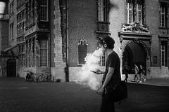 Smoker (Deinert-Photography) Tags: cityschlachte deutschland flickr fujifilmx100f bremen blackwhite streetfotografie street schwarzweiss citylife hb hansestadt streetart streetphoto streetphotography ubanphotography urban raucher
