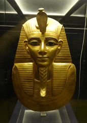 Gold Mask of Psusennes I (Aidan McRae Thomson) Tags: cairo egyptian museum ancient egypt gold metalwork sculpture tanis