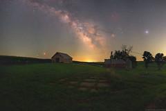 Abandoned (Jake Rogers Photo) Tags: jakerogersphotography jakerogers rural jupiter mars farm barn abandoned iowa cosmos fireflies summer nightsky starrynight starry stars milkyway