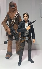 Han and Chewbacca (chevy2who) Tags: sixinch chewbacca starwarsblackseries blackseries starwars solo han toyphotography toy wars star