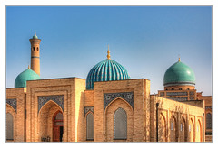 Taschkent UZ - Teleshayakh Mosque Komplex 02 (Daniel Mennerich) Tags: silk road uzbekistan tashkent history architecture hdr teleshayakh mosque