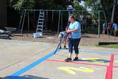 2018_YA_Louisville Habitat 55 (TAPSOrg) Tags: taps tragedyassistanceprogramforsurvivors youngadult habitatforhumanity lousiville kentucky build 2018 military outdoor horizontal playground candid woman