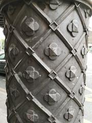 2018-07-FL-192972 (acme london) Tags: bridge bridgecolumn castiron column diagrid dublin ireland ornament structure