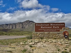 Guadalupe Mountains National Park (Jasperdo) Tags: guadalupemountainsnationalpark nationalpark nationalparkservice nps texas landscape scenery entrancesign sign