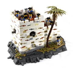 Blockhouse, Stéphanique (Ayrlego) Tags: brethrenofthebrickseas bobs bluecoats lego oleon colonial