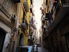 Napoli vicolo a Montesanto