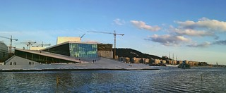 Oslo opera house in this wonderful capture by Mariagrazia Zangara