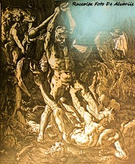 Hedrik Goltzius, Ercole Uccide Cacus,1974, Stampe 39, (Roma ieri, Roma oggi: Raccolta Foto de Alvariis) Tags: romascomparsa roma rome lazio italy personaggi raccoltafotodealvariis hedrikgoltziusercoleuccidecacus1974stampe
