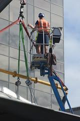 DSC01127 (The Unofficial Photographer (CFB)) Tags: alanjulian chris hunter aviation restoration woking deardiaryjuly2018 2018 alanallen aln julian brooklands history hiviz