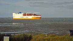"Italian Gimaldi Lines: ""Grande Amburgo"" (Manfred_H.) Tags: technik fahrzeuge vehicles schiffe ships container car carrier combicarrier autoundcontainertransporter carcontainercarrier"