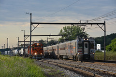All South Shore (CN Southwell) Tags: chicago south shore bend rr railroad stainless mu electric gp382 freight