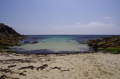 Smooth seas (Sundornvic) Tags: porthgarwa cornwall kernow beach sea shore rocks coast cornish sand water seaside