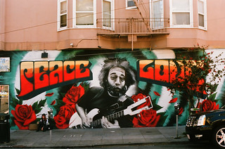 Jerry / Haight St & Cole St - San Francisco, Californie