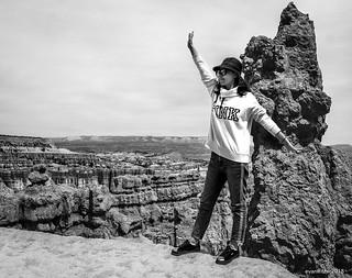Tourist on the Precipice