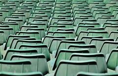 Stadion Abstract (nagyistvan8) Tags: nagyistván budapest magyarország magyar hungary nagyistvan8 stadion puskásstadion absztrakt abstract székek seats ülőhelyek műanyag plastic tárgy object részlet detail ngc különleges special extreme színek colors fekete fehér zöld black white green foci football footballfever saturday smile szombat mosoly smileonsaturday 2018 nikon