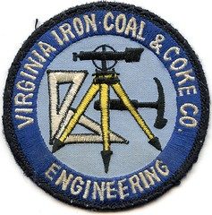 Virginia Iron coal & Coke (Coalminer5) Tags: coalmining coalminer coalmemorabilia coalcollectibles mining miningmemorabilia miningcollectible miningartifacts patch sewonpatch transit surveyor virginiacoal